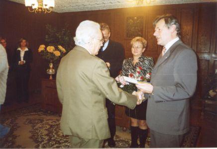 22. Herbowa Tarcza Dla Stanis Awa Garsztki 2004